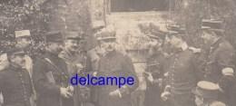 Photo Ancienne - Groupe D´officiers - Un Du 20e Régiment De Dragons - Voir Uniforme - WW1 - Gendarme ? - Guerre, Militaire