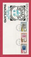SWAZILAND, 1979, Mint FDC ,Sir Rowland Hill,   Nr(s)322-324,  F 3475 - Swaziland (1968-...)