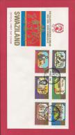 SWAZILAND, 1981,  Mint FDC , King Sobhuza II Jubilee,   Nr(s) 378-383,  F 3485 - Swaziland (1968-...)