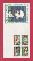 SWAZILAND, 1983,  Mint FDC , Nobel,   Nr(s) 437-440,  F 3447 - Swaziland (1968-...)