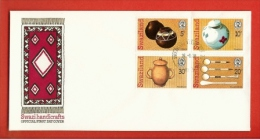 SWAZILAND, 1978,  Mint FDC , Handicrafts,   Nr(s) 296-299,  F 837 - Swaziland (1968-...)