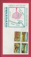 SWAZILAND, 1972,  Mint FDC , Tourism  Nr(s) 193-196, F 3451 - Swaziland (1968-...)