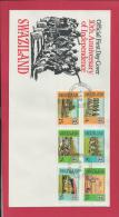 SWAZILAND, 1978, Mint FDC , 10 Year Independence,    Nr(s)300-305, F 3470 - Swaziland (1968-...)