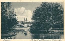 Allemagne  -  MAGDEBURG  -   Partie  Am Adolf Mittag  - See Mit  Blick  Um Dom - Magdeburg