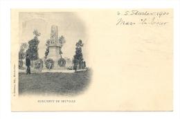 Cp, 55, Mars-la-Tour, Monument De Bruville, Voyagée 1900 - Francia