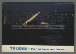 T3156 TELESE Benevento PANORAMA NOTTURNO VG (m) - Benevento
