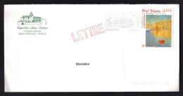 N° 3584 - 0.75€ Tableau Signac / BRANNE 26.11.03 / Tarif Lettre 20 à 50grs - 1961-....