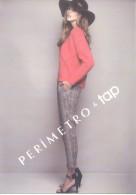 PERIMETRO & TAP - MODA MODE BUENOS AIRES ARGENTINA AÑO 2014 TARJETA PUBLICITARIA - Mode