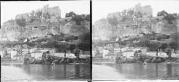 PN 0022 - DORDOGNE - BEYNAC - Chateau Et Dordogne - Plaques De Verre