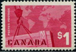 DK0307 Canada 1963 Import And Export Trade 1v MNH - 1952-.... Règne D'Elizabeth II