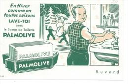 BUVARD: Savon Palmolive - S