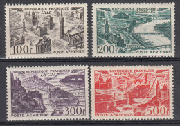 FRANCE 1949 VUES  YT PA 25-28 MI 861-64 MNH ** NEUFS GOMMA INTEGRA - Frankreich