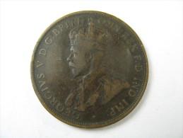 AUSTRALIA  1 ONE PENNY HIGH GRADE COPPER  COIN 1912 LOT 22 NUM 15 - Victoria