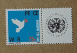 Y1 Nations Unies (New York)  : Guerre / Paix - Ongebruikt