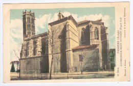 (RECTO / VERSO) PAMIERS - CATHEDRALE SAINT ANTONIN - Pamiers