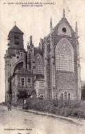 St-Julien-de-Vouvantes.. Animée.. Belle Vue De L'Eglise - Saint Julien De Vouvantes