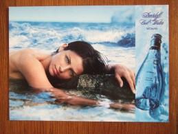 Davidoff Cool Water Parfum Carte Postale - Modern (from 1961)