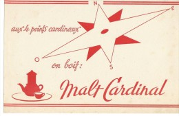 BUVARD: Malt Cardinal - Carte Assorbenti