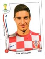FIGURINE PANINI NUOVE - MINT STICKERS BRASIL WORLD CUP 2014 - CROATIA - SIME VRSALJKO - N.59 - Panini