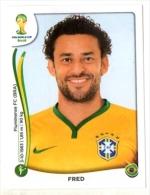 FIGURINE PANINI NUOVE - MINT STICKERS BRASIL WORLD CUP 2014 - BRASIL - FRED - N.50 - Panini