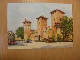 Italia - VERONA   -Castello Scaligero -   Ca 1939 - D117069 - Verona