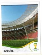 FIGURINE PANINI NUOVE - MINT STICKERS BRASIL WORLD CUP 2014 - BRAZILIAN STADIUM - BRASILIA - N.11 - Panini