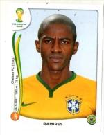 FIGURINE PANINI NUOVE - MINT STICKERS BRASIL WORLD CUP 2014 - BRASIL - RAMIRES - N.40 - Panini