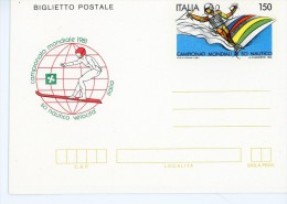 Italie-Championnat Du Monde De Ski Nautique 1981-Aerogramme