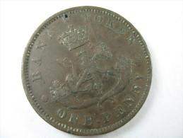 CANADA ONE  PENNY TOKEN UPPER CANADA 1850 LOT 23 NUM  2 - Canada