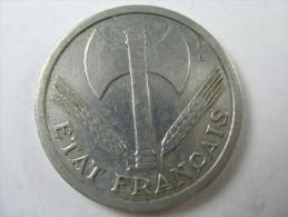 FRANCE 2 FRANCS 1943 SHARP DETAILS HIGH GRADE   COIN  LOT 23 NUM  10 - [ 3] 1815-… : Reino De Países Bajos
