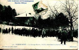 N°38001 -cpa Remiremont -la Grange Puton- Concours De Ski- - Remiremont