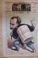 L´ECLIPSE.sixième Année.n°249.dimanche 3 Août 1873.M.de Choiseul. Par GILL. - Journaux - Quotidiens