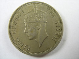 MALAYA 20 CENTS 1948   COIN   LOT 23 NUM 16 - Malaysie