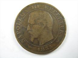 FRANCE 5 CENTIMES 1855  W     COIN   LOT 23 NUM  18 - France