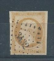 FRANCE N° 13A  T. B.  Pas D´aminci - 1853-1860 Napoléon III