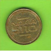 001 #  Spielmarke - Jeton -  NOKIA 5110 - Profesionales/De Sociedad