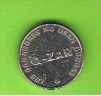 009 #  Spielmarke - Jeton - ZAR - LOS GANADORES NO USAN DROGAS - Profesionales/De Sociedad