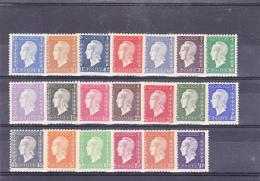 FRANCE   Y.T. N° 682  à   701 NEUF** - 1944-45 Marianne Of Dulac