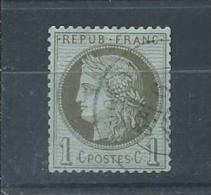 FRANCE  N° 50 Oblitéré T. B.  Pas D´aminci - 1871-1875 Ceres