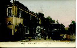 N°38007 - Cpa Rouen -route De Bonsecours -octroi De Rouen -Tramway- - Tramways