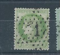 FRANCE  N° 53 Oblitéré T. B.  Pas D´aminci - 1871-1875 Ceres