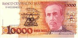 BRESIL  10 Cruzados Novos/ 10 000 Cruzados   Non Daté (1989-1990)  Pick 218 B Signature 27      ***** BILLET  NEUF ***** - Brésil