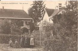 Cpa 51 Blaise Sous Hauteville Villa Des Roses Belle Animation Rare A Voir - Unclassified