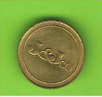 033 #  Spielmarke - Jeton - J & J Co. - Profesionales/De Sociedad