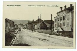 88d26CpaCHATENOIS Gendarmerie - Avenue De La Gare 1910 - Chatenois