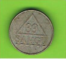 049  #  Spielmarke - Jeton - 39 SAMGU - Profesionales/De Sociedad