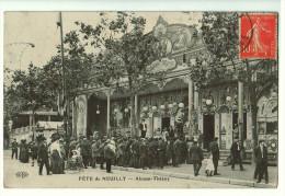 92b36CpaNEUILLY Fête De Neuilly , Alcazar - Théâtre 1910 - Neuilly Sur Seine