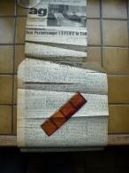 Hulde Aan Postontvanger Jerome Lavens Te Tielt 1958 - Faire-part