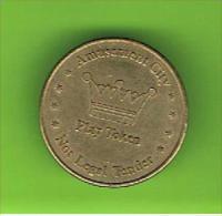 068  #  Spielmarke - Jeton - AMUSEMENT CITY PLAY MONEY - Profesionales/De Sociedad