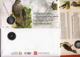 2010- 25 ANS ANDRE BUZIN- NUMEROTE- ALLEMAND-NERLANDAIS-ANGLA IS-FR-OBLITERE 2020-ANVERS-ANTWERPEN - 1985-.. Oiseaux (Buzin)